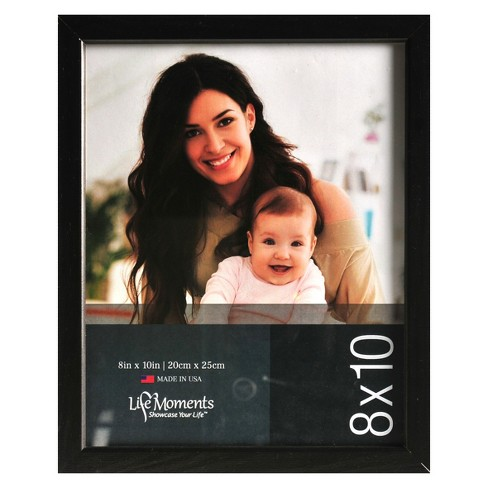 "8"" x 10"" (Set of 6) Wood Frame Black - Pinnacle Frames - image 1 of 4"