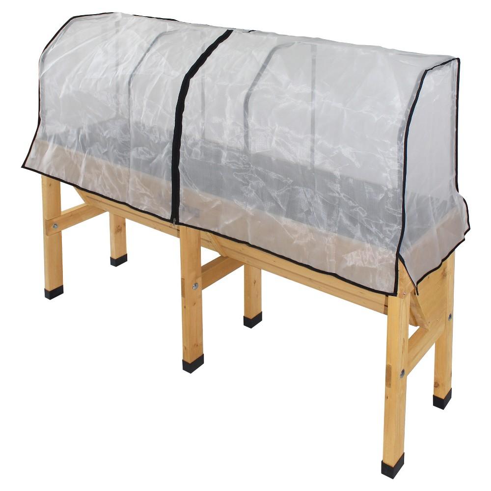 Wallhugger Greenhouse Micromesh Cover - White - VegTrug