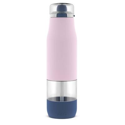 Ello 27oz Plastic Aura Tritan Straw Water Bottle Pink