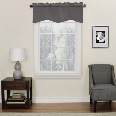 "18""x42"" Kendall Thermaback Blackout Valance - Eclipse"