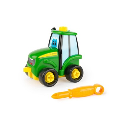 John Deere Build-A Buddy Johnny 2-in-1 Buildable Tractor
