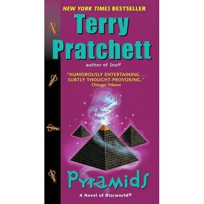 Pyramids - (Discworld Novels (Paperback)) by  Terry Pratchett (Paperback)