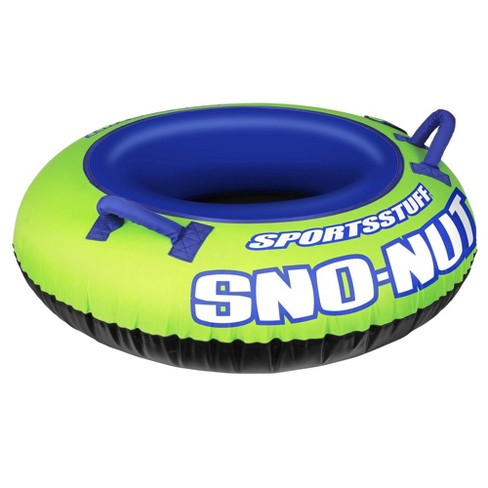 Sportsstuff Inflatable 48-Inch Sno-Nut Snow Tube with Foam Handles | 30-3201 - image 1 of 4