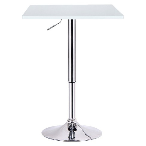 Luta Adjustable Pub Table Wood/White - Boraam - image 1 of 1
