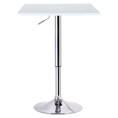 Luta Adjustable Pub Table Wood/White - Boraam - image 1 of 1