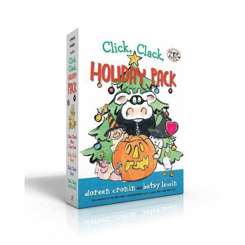 Click, Clack, Holiday Pack - (Click Clack Book) by  Doreen Cronin (Hardcover) - image 1 of 1