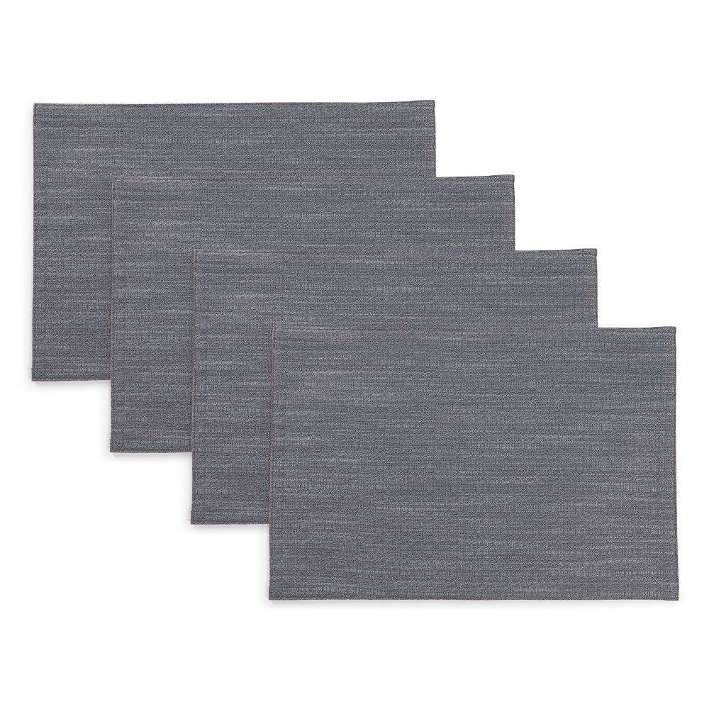 """Image of """"4pk 13""""""""X19"""""""" Harper Placemats Gray - Town & Country Living"""""""