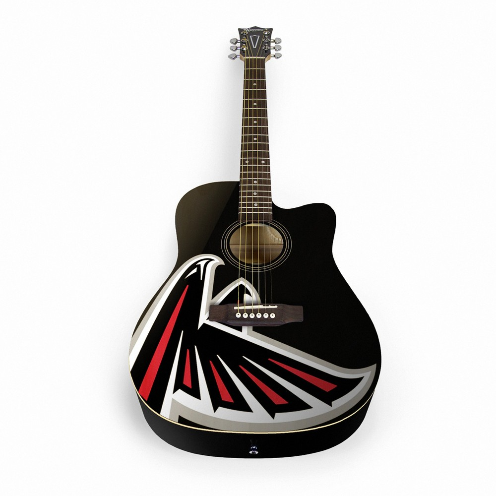 Atlanta Falcons Mini Guitar