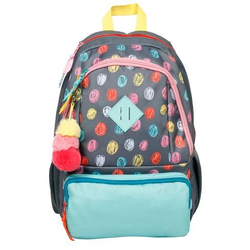 Kids  Backpack Scribble Dot 17