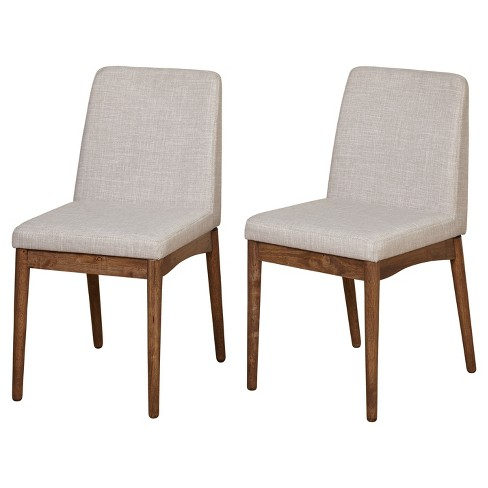 Element Dining Chair (Set Of 2) - Walnut - Target Marketing Systems - image 1 of 3
