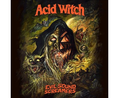 Acid Witch - Evil Sound Screamers (CD) - image 1 of 1