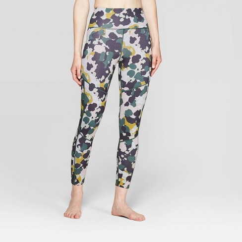 Women's Camo Print 7/8 High-Waisted Leggings - JoyLab™ Print Camo - image 1 of 2
