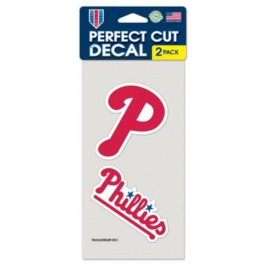 MLB Philadelphia Phillies 2pk Multi Use Decals