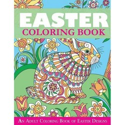 Easter Coloring Book - (Easter Books) by  Creative Coloring (Paperback)