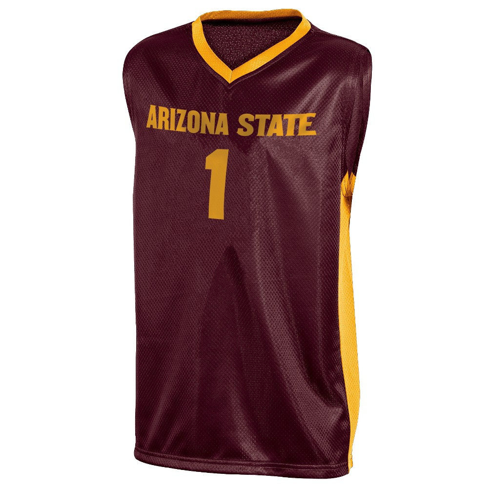 Arizona State Sun Devils Boys' Basketball Jersey L, Multicolored