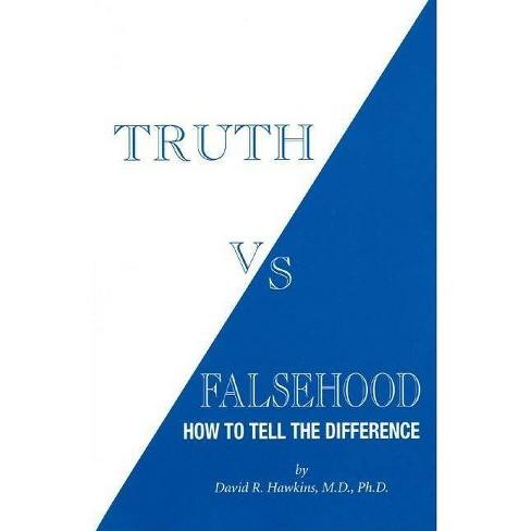 Truth Vs Falsehood - (Paperback) - image 1 of 1