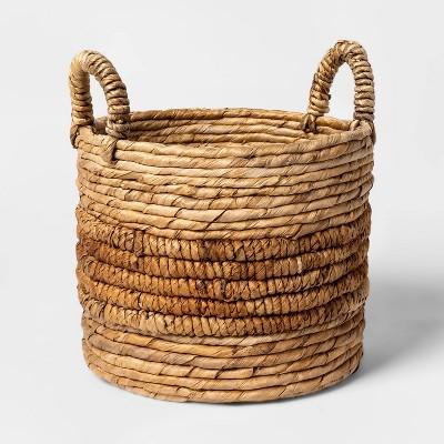 Round Natural Basket - Threshold™