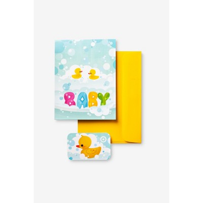 Ducky GiftCard + Free Greeting Card $20