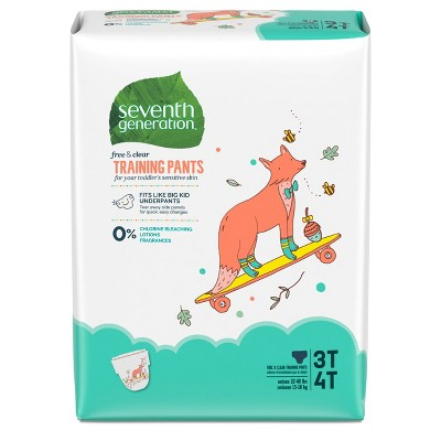 Diapers: Seventh Generation Free & Clear Training Pants