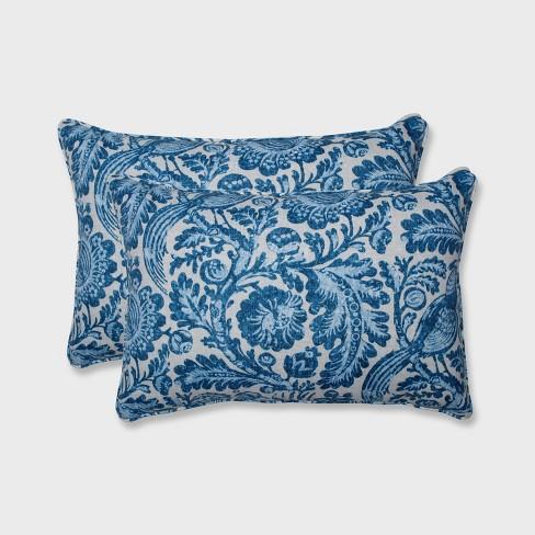 2pk Tucker Resist Oversized Rectangular Outdoor Throw Pillow