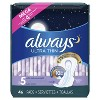Always Ultra Thin Extra Heavy Overnight Pads - Size 5 - 46ct - image 3 of 4