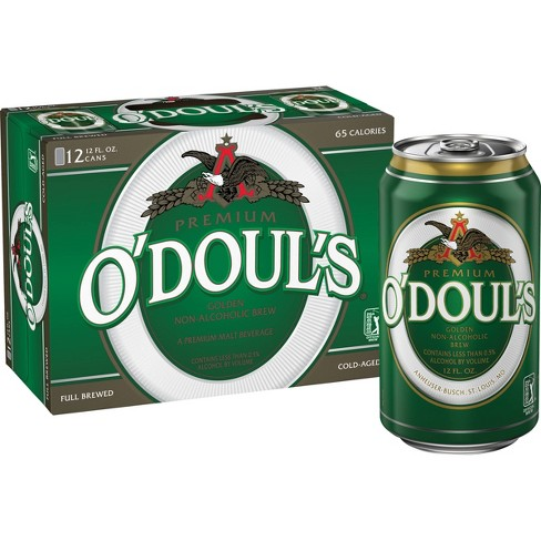 O'Doul's Premium Non-Alcoholic Beer - 12pk/12 fl oz Cans - image 1 of 4