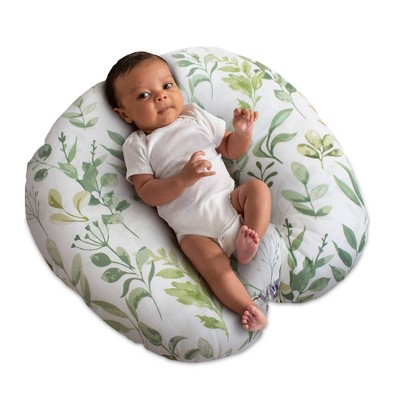 Boppy Original Newborn Lounger - Green Leaf Decor