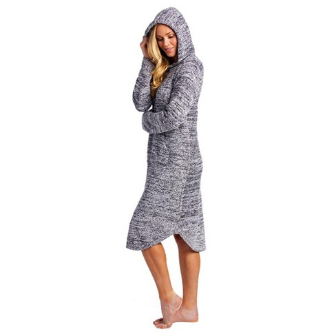 Softies Women's Marshmallow Hooded Lounger - image 1 of 4