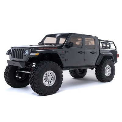 Axial 1/10 SCX10 III Jeep JT Gladiator Rock Crawler with Portals RTR (Battery and Charger Not Included), Gray, AXI03006T1