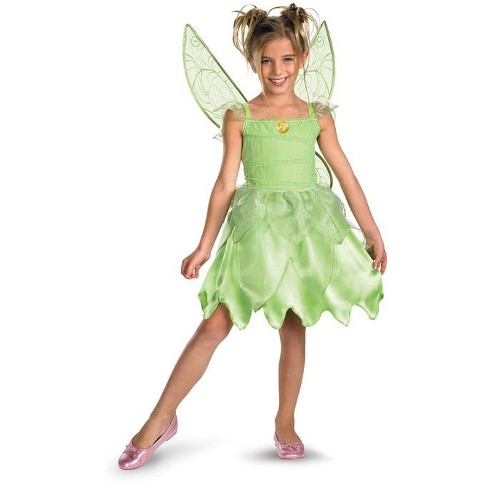 Tinkerbell Disney Tinker Bell and the Fairy Rescue Classic Child Costume - image 1 of 1