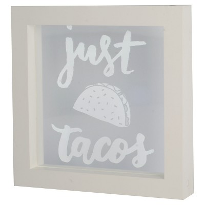 Lightbox  Just Tacos  Novelty LED Wall Lights - Threshold™