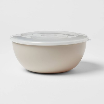78oz Plastic Serving Bowl with Lid - Room Essentials™