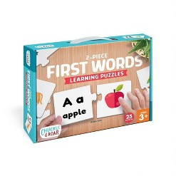 Chuckle & Roar Learning Puzzle First Words - 50pc