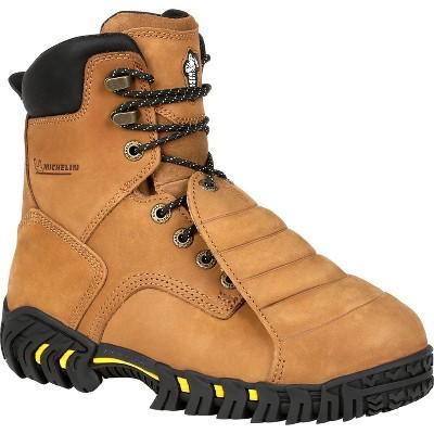 Men's Michelin® Pilot Sledge Toe Metatarsal Work Boots