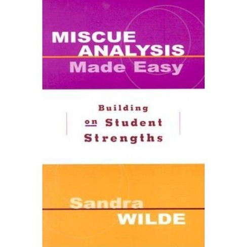 Miscue Analysis Made Easy - by  Sandra Wilde (Paperback) - image 1 of 1