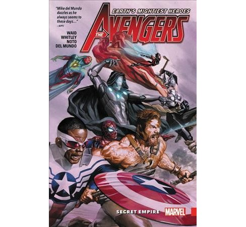 Avengers Unleashed 2 : Secret Empire -  (Avengers) by Mark Waid (Paperback) - image 1 of 1