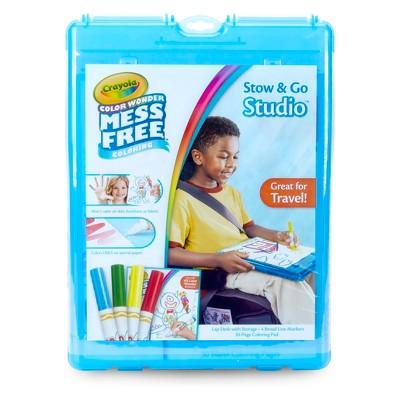 Crayola® Color Wonder Stow & Go Studio™