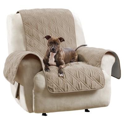 Non-Slip/Waterproof Chair/Recliner Furniture Protector Tan - Sure Fit