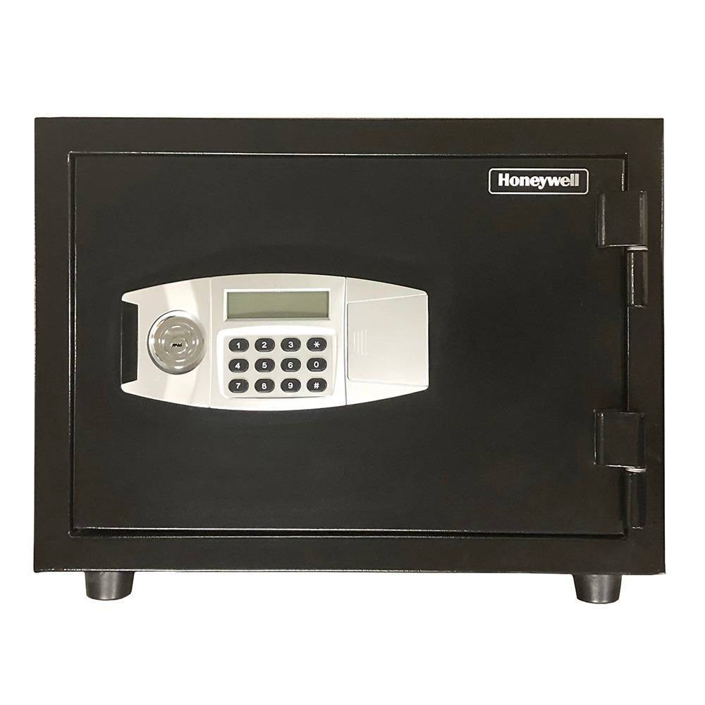 Image of Honeywell Water Resistant 1 Hour Fire & Theft Safe, Black