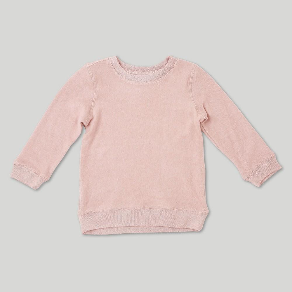 Toddler Girls' Afton Street Sweatshirt Pink Heather 2T
