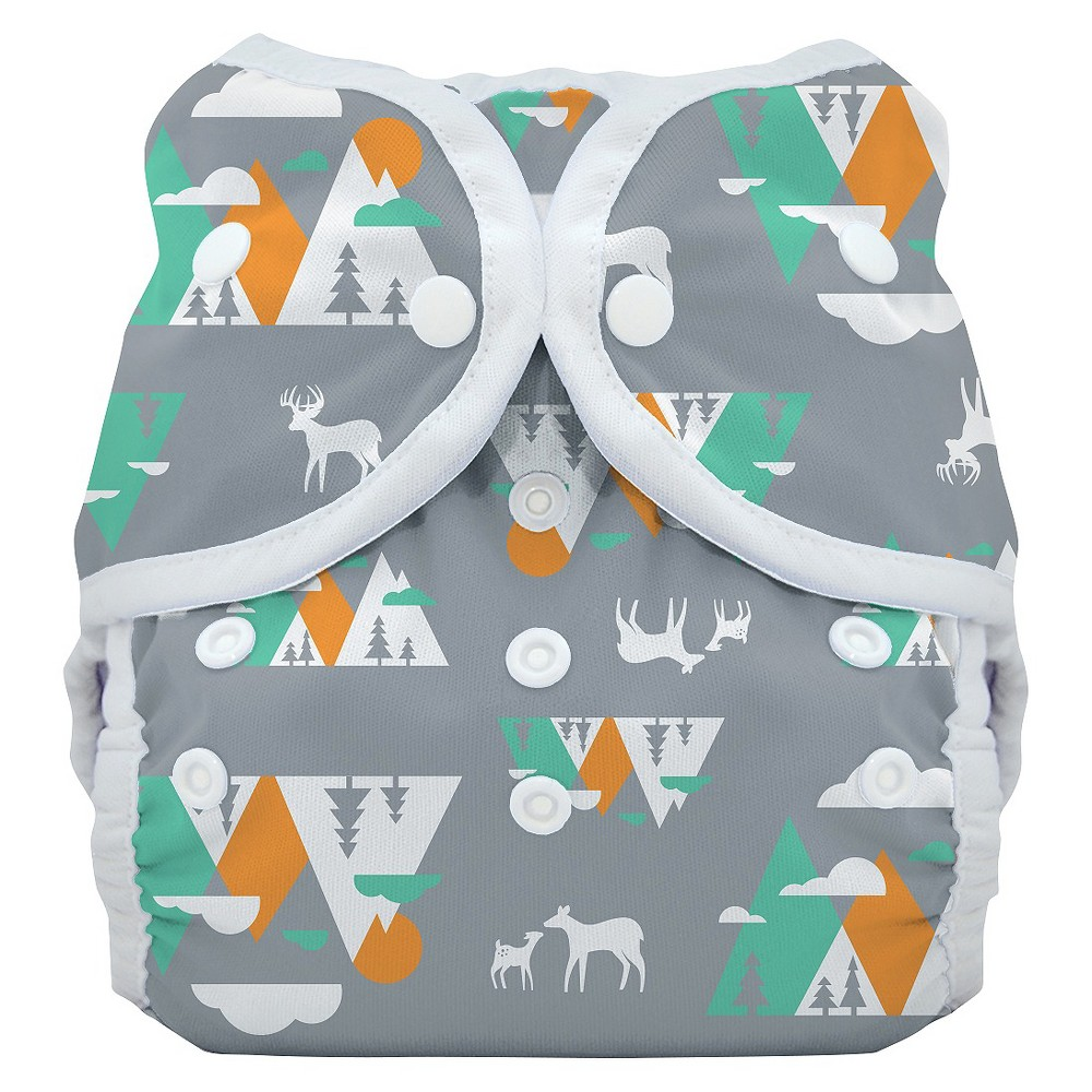 THIRSTIES BABY Snap Duo Wrap, Mountain Range - Size Two, ...