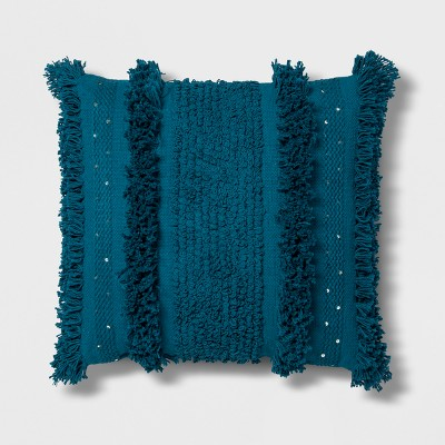 Teal Tufted Oversized Throw Pillow - Opalhouse™