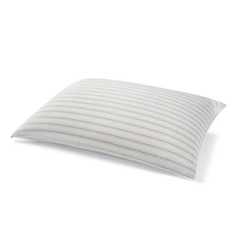 Yarn Dye Ticking Stripe Feather & Down Bed Pillow - Laura Ashley - image 1 of 2