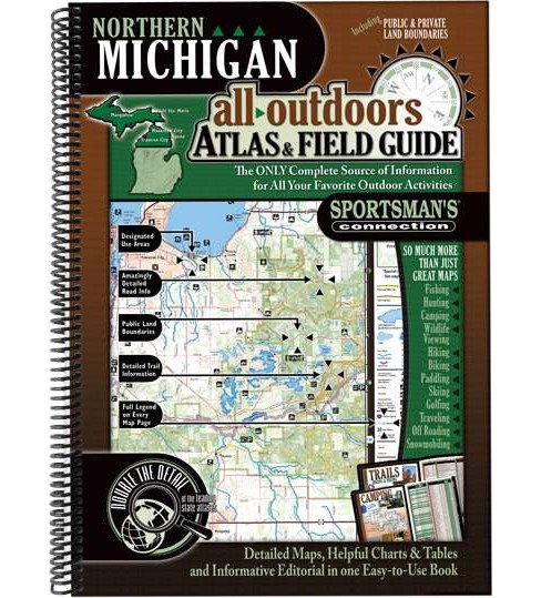 Northern Michigan All-Outdoors Atlas & Field Guide (Paperback) - image 1 of 1
