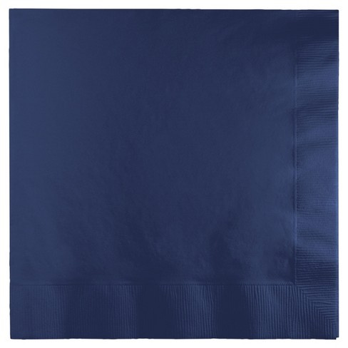 50ct Navy Blue Napkins - image 1 of 1