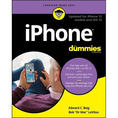 IPhone for Dummies - 14th Edition by  Edward C Baig & Bob LeVitus (Paperback)