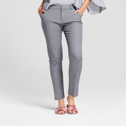 Women's Straight Leg Slim Ankle Pants - A New Day™