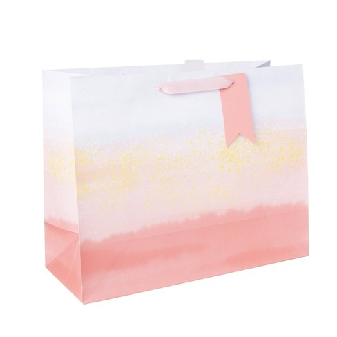 Large Vogue Bag With Tag Coral - Spritz™ - image 1 of 1