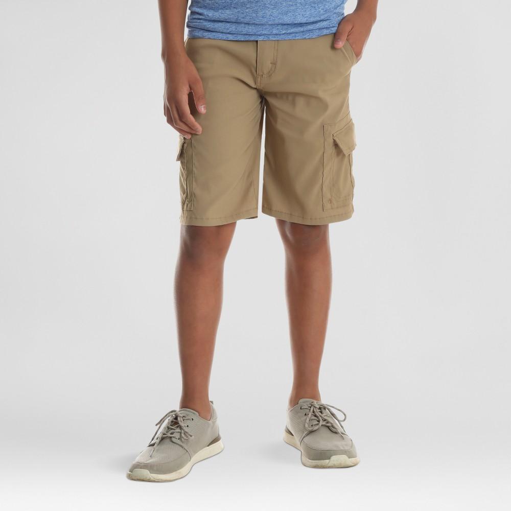 Wrangler Boys' Explorer Cargo Shorts - Brown 14