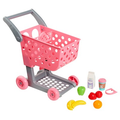 Perfectly Cute Shop and Go Grocery Cart with Accessories